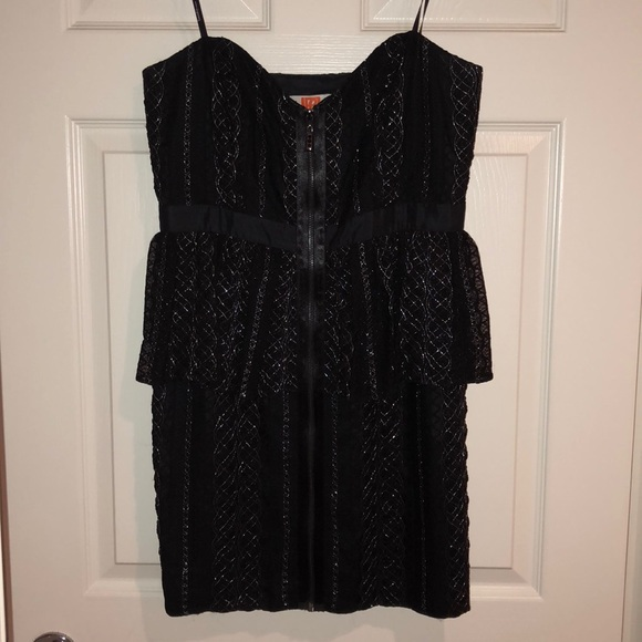 Laundry By Design Dresses Black And Silver Cocktail Dress Poshmark
